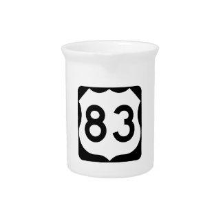 Zeichen US-Weg-83 Krug