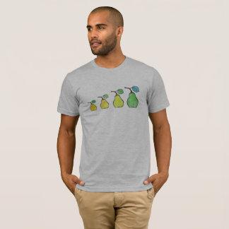 Zeichenstift-Birnen-T - Shirt