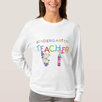 Zeichenstift-Kindergärtnerin-T-Shirts und T-Shirt