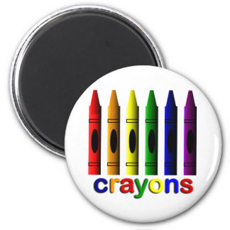 Zeichenstift-Kunst für Kindermagneten Runder Magnet 5,7 Cm