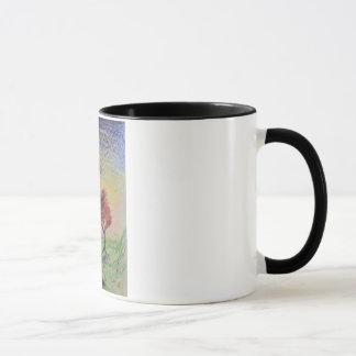 Zeichenstift-Regenbogen-Himmel-Tasse Tasse