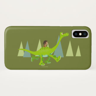 Zeichnen der Stelle Arlo reiten iPhone X Hülle