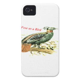 Zeichnen des Fasans frei als Vogel Case-Mate iPhone 4 Hülle