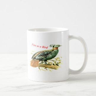 Zeichnen des Fasans frei als Vogel Kaffeetasse