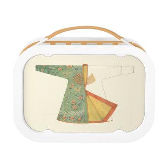 Zeichnen des unfertigen Kimono Brotdose