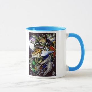 Zeichnen hinunter die Mond-Tasse Tasse
