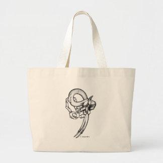 Zeichnen: Serpentin Jumbo Stoffbeutel
