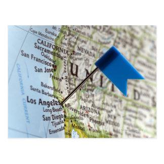 Zeichnen Sie das Button auf, das an auf Los Postkarten