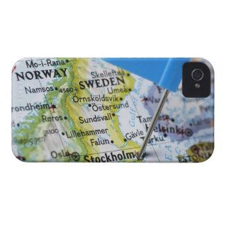 Zeichnen Sie das Button auf, das auf Stockholm, Case-Mate iPhone 4 Hülle