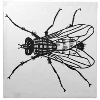 Zeichnende Fliege - Insekt, Plage, fliegt Serviette