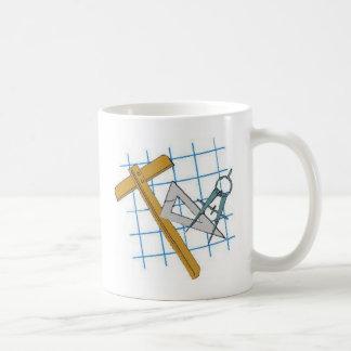 Zeichnenentwurfs-Werkzeuge Kaffeetasse