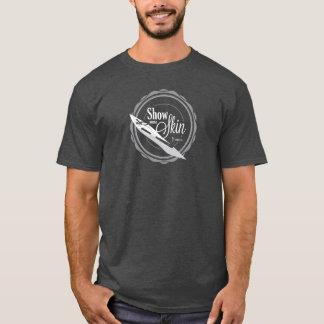 Zeigen Sie etwas Haut - dunkle T T-Shirt