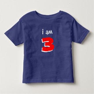 Zeigen Sie Ihr Alter! Das Shirt des Spaß-Kindes