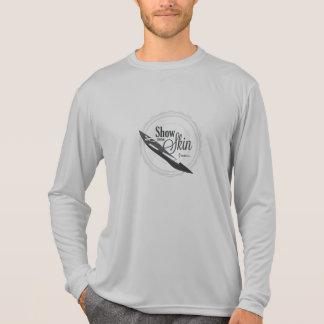 Zeigen Sie irgendeinen Hautausschlag-Schutz T-Shirt