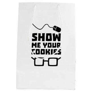 Zeigen Sie mir Ihren Plätzchen-Aussenseiter Zb975 Mittlere Geschenktüte