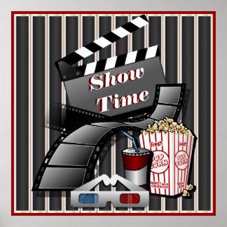 Zeigen Sie Zeit-Theater Poster