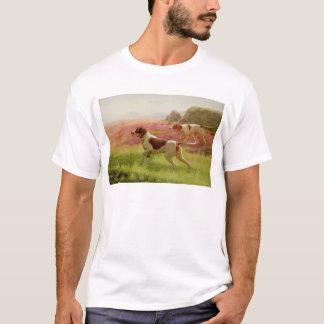 Zeiger in einer Landschaft, 19. Jahrhundert T-Shirt
