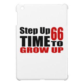 Zeit 66, Geburtstags-Entwürfe aufzuwachsen iPad Mini Hülle