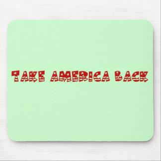 Zeit, Amerika von den Politikern zurückzunehmen Mousepad
