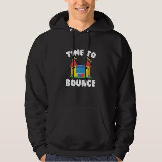 Zeit aufzuprallen hoodie