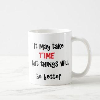 Zeit, bessere Tasse zu sein