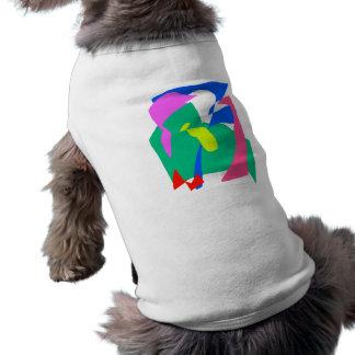 Zeit donnert, wenn Sie den zukünftigen Regen hören Ärmelfreies Hunde-Shirt