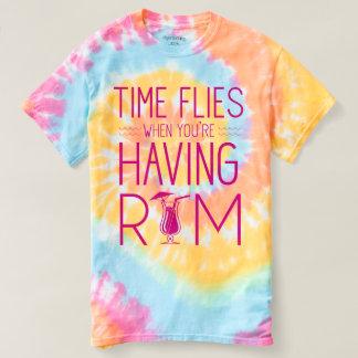 Zeit fliegt, wenn Sie Rum haben T-shirt