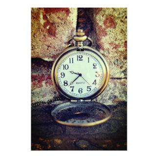 Zeit - Fotodruck