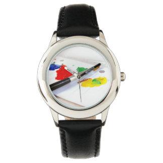 Zeit für das Malen Uhr