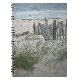 Zeit für das Strand-gewundene Notizbuch Spiral Notizblock