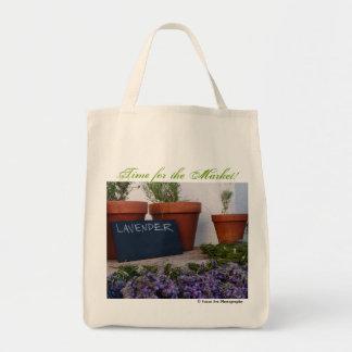 Zeit für den Markt - Bio Einkaufstasche