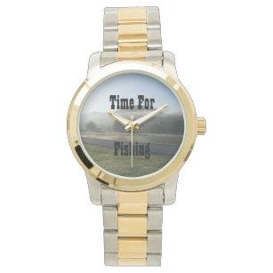 Zeit für die Fischerei der Uhr