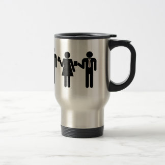 Zeit für Kaffeereise-Tasse