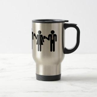 Zeit für Kaffeereise-Tasse Edelstahl Thermotasse