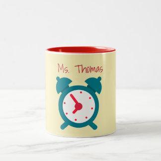 Zeit für Klasse Zweifarbige Tasse