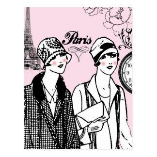 Zeit für Paris Postkarte