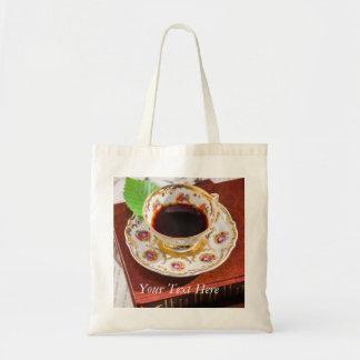 Zeit für Tee-Entwurf Tragetasche