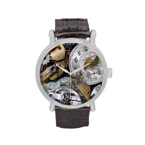 Zeit-Gang Steampunk viktorianische Vintage Taschen Armbanduhr