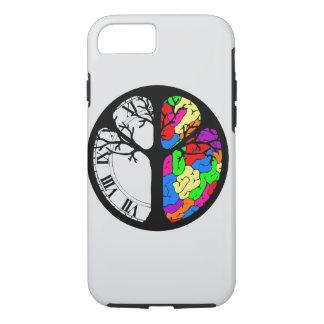 Zeit gegen Ihren Gehirn-Kasten iPhone 8/7 Hülle