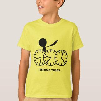 Zeit-Idiom-Reihe - Behing Zeiten T-Shirt