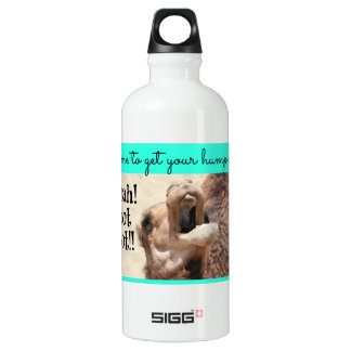 Zeit, Ihren Buckel an zu erhalten! whoot! Aqua auf Aluminiumwasserflasche