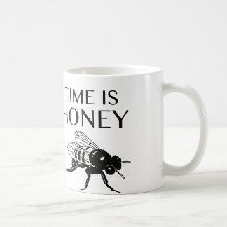 Zeit ist Honig Tasse