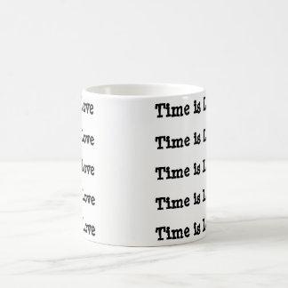Zeit ist Liebe-Kaffee-Tasse Kaffeetasse