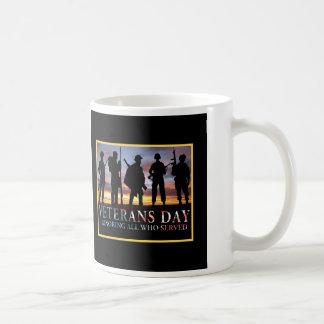 Zeit-Krieger-Veteranen-TagesTasse Kaffeetasse