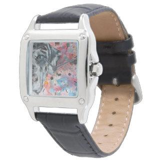 Zeit mit Ihrer Deutschen Dogge Uhren