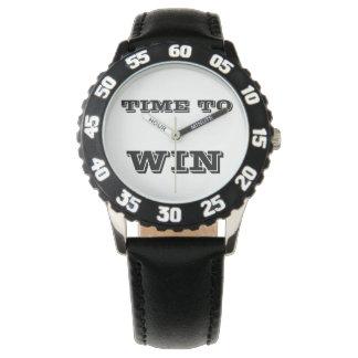 Zeit, motivierend Uhr zu gewinnen - Meister-Uhr