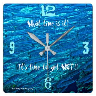 Zeit, nasse Uhr zu erhalten