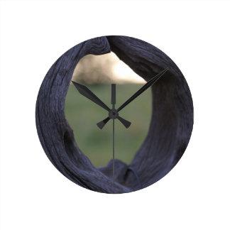 Zeit-Portal-Uhr Runde Wanduhr