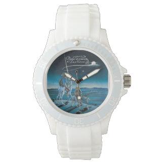 Zeit sich zu bewegen? durch @QUIXOTEdotTV Armbanduhr