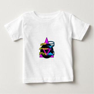 Zeit stoppt nie baby t-shirt